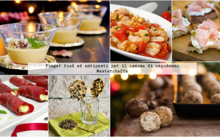 Finger food ed antipasti per il cenone di capodanno