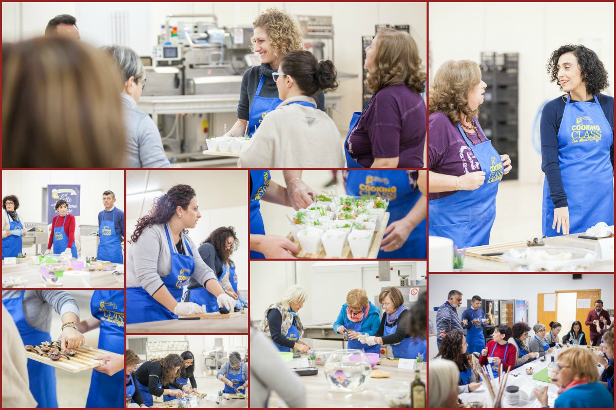 "Cooking class ""formaggiose"" a Latterie Riunite"