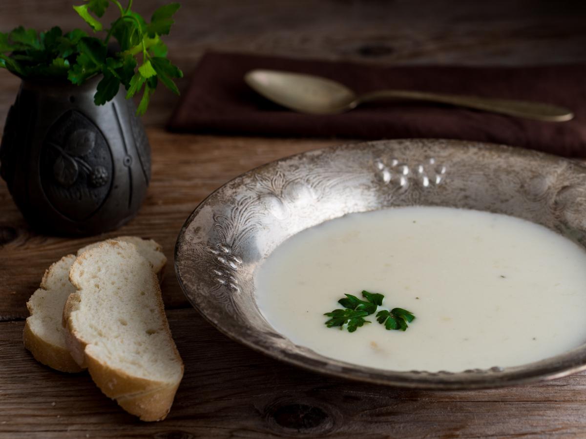 Vellutata di pollo - un piatto caldo e delicato