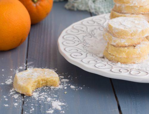 Orange meltaways – biscotti inglesi all'arancia