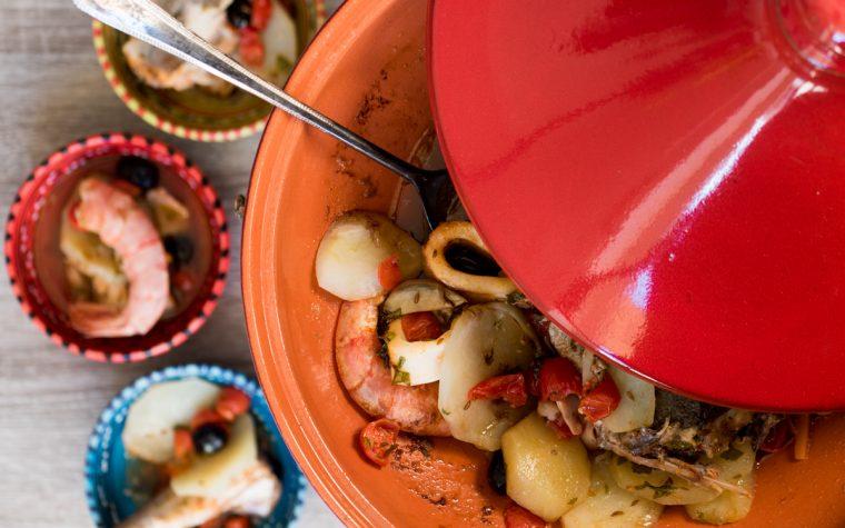 Tajine di pesce – ricetta dal profumo arabo