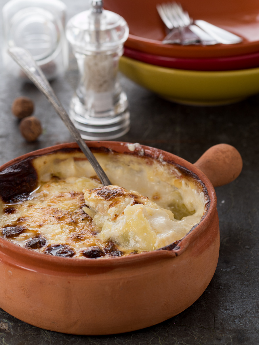 Gratin Dauphinois - patate gratinate alla francese