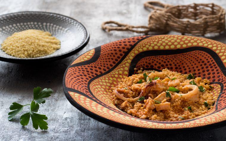 Cous cous di mare – un piatto da gustare caldo