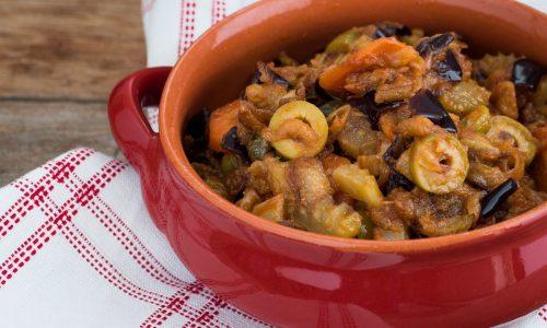 Caponata di melanzane - ricetta siciliana