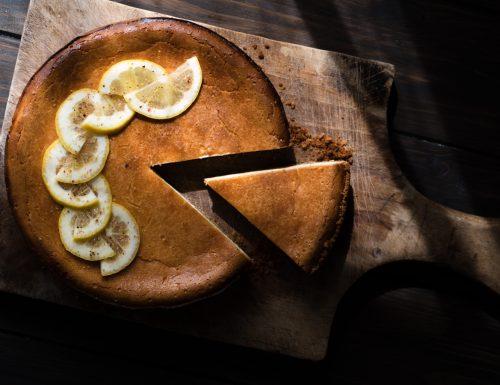 New York cheesecake al limone