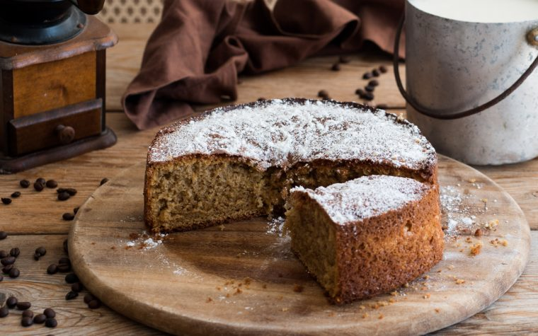 Torta caffellatte – dolce da colazione