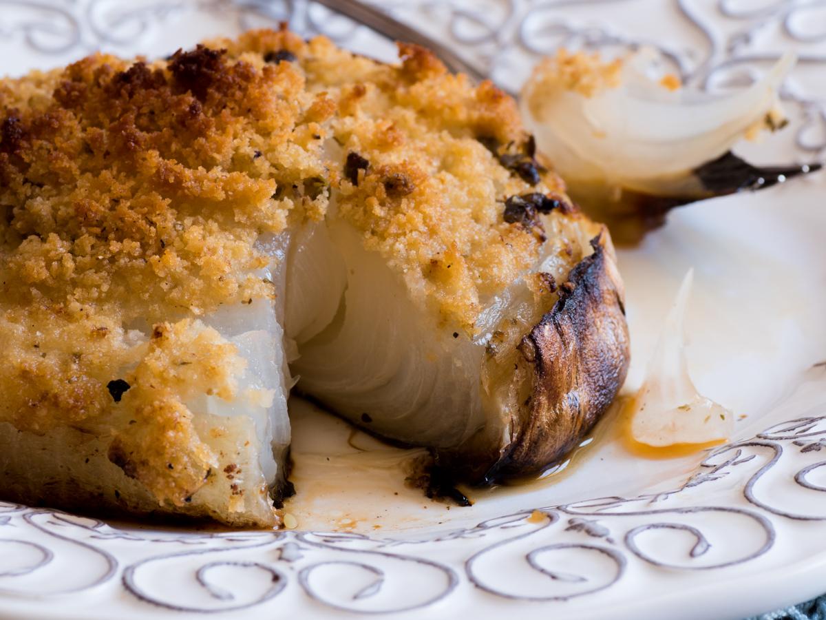 Cipolla di Giarratana gratinata al forno - Mastercheffa