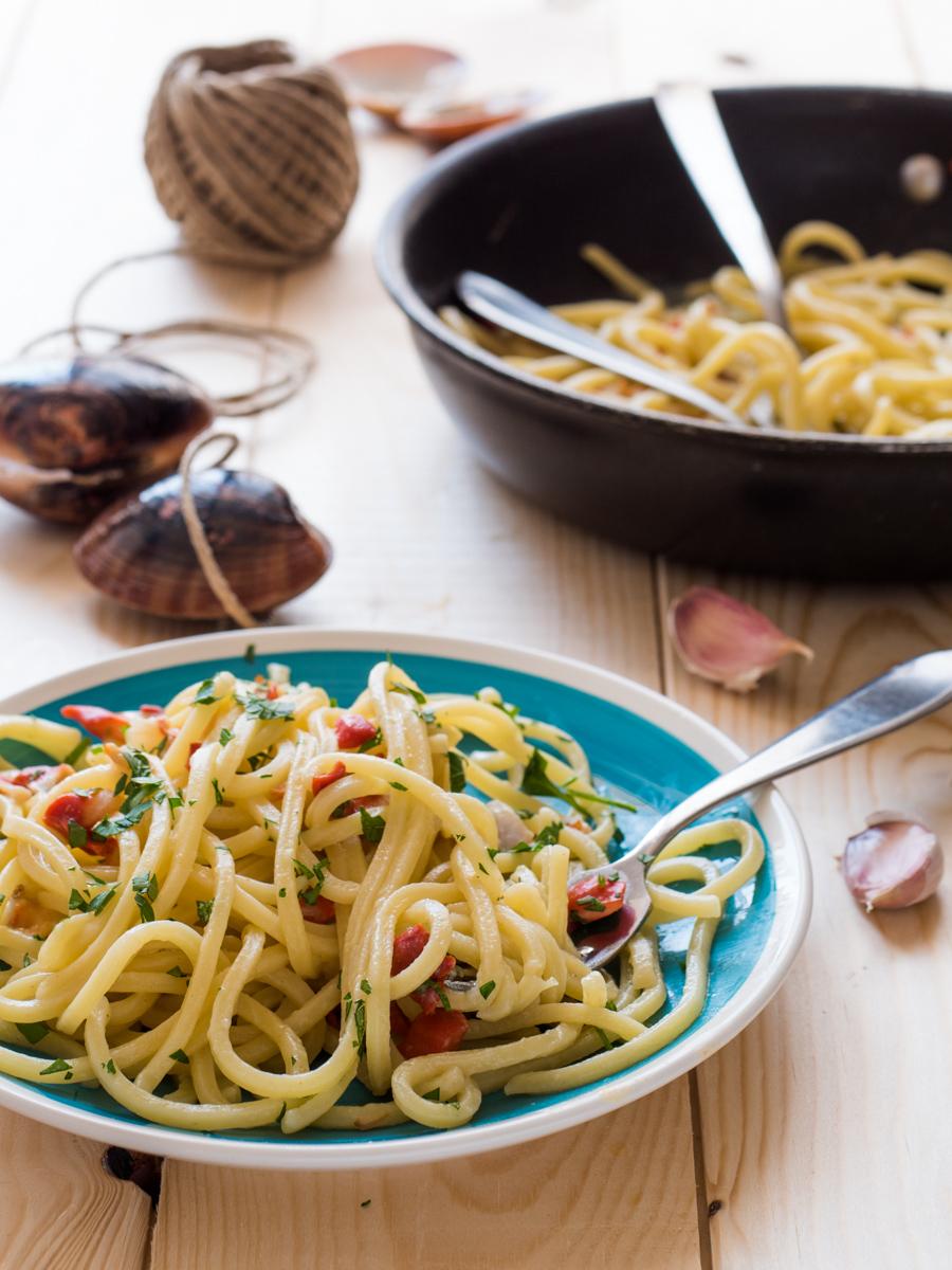 Spaghetti con fasolari