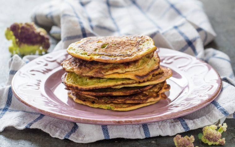 Pancake salati al cavolfiore