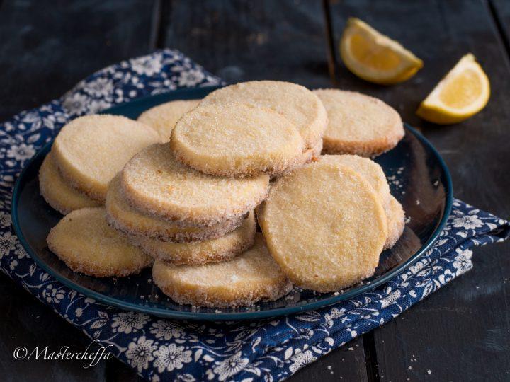 Lemon meltaways - biscotti inglesi al limone