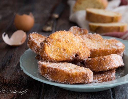 Pane fritto con lo zucchero – La merenda delle nonne
