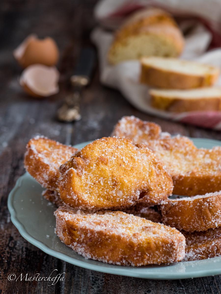 Pane fritto con lo zucchero - La merenda delle nonne