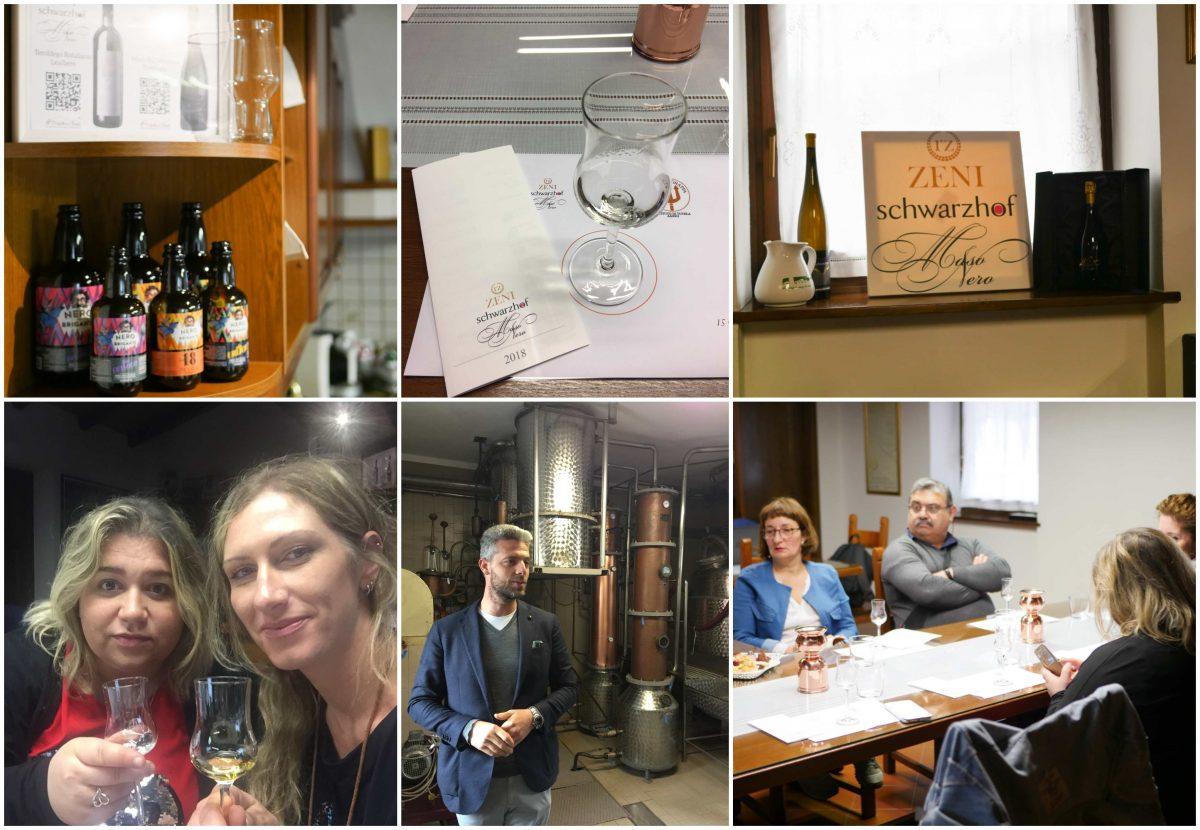Trento, un blogtour alla scoperta della grappa - distilleria zeni