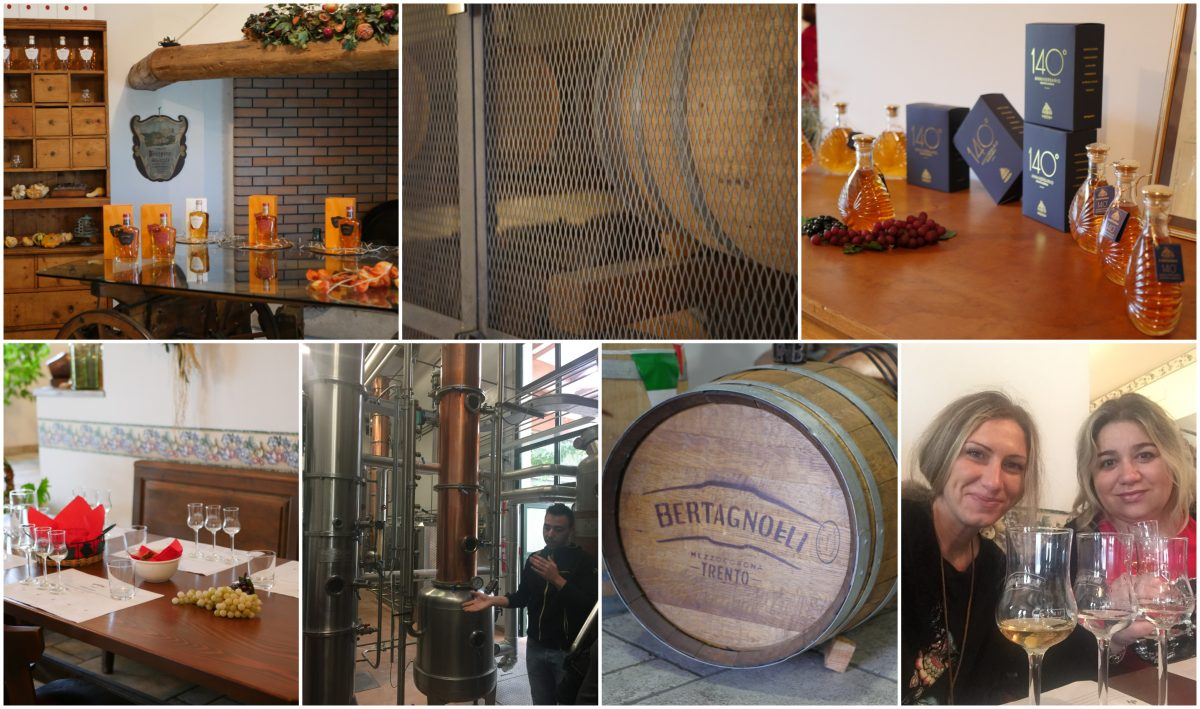 Trento, un blogtour alla scoperta della grappa - distilleria bertagnolli