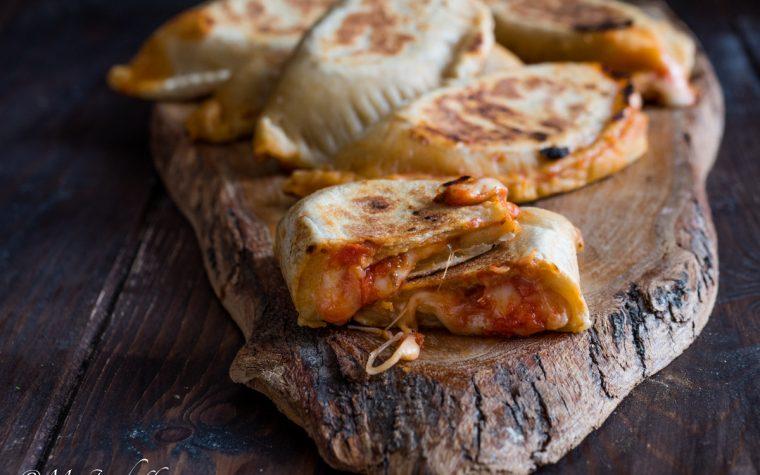 Crescioni pomodoro e formaggio – ricetta senza strutto