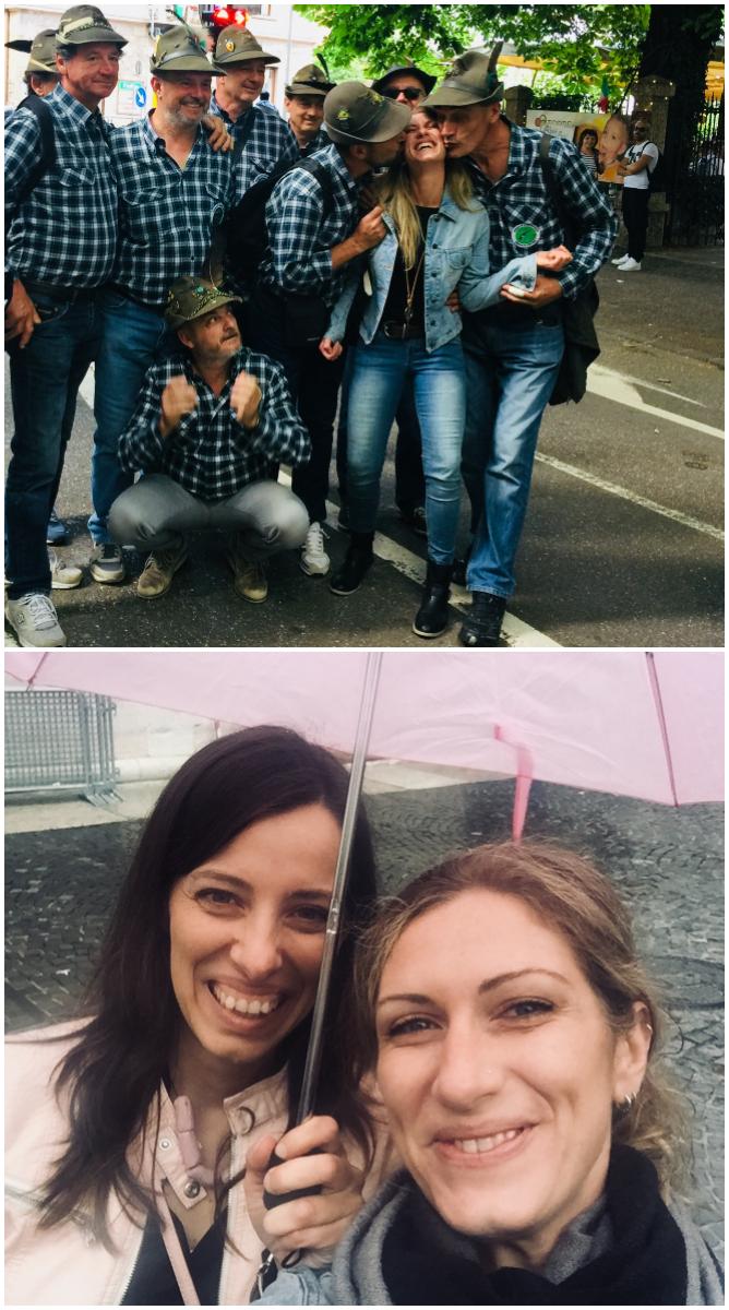 Trento, un blogtour alla scoperta della grappa - alpini - incontro julia