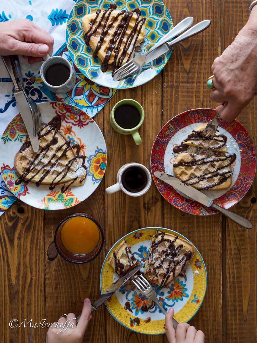 Ricetta waffle dolci - per una merenda golosa!
