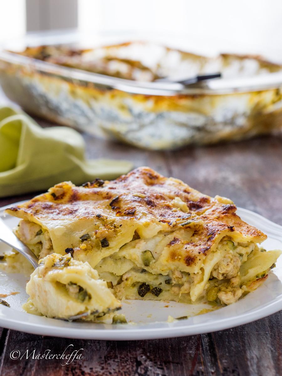 Lasagne Zucchine e Pollo al Curry
