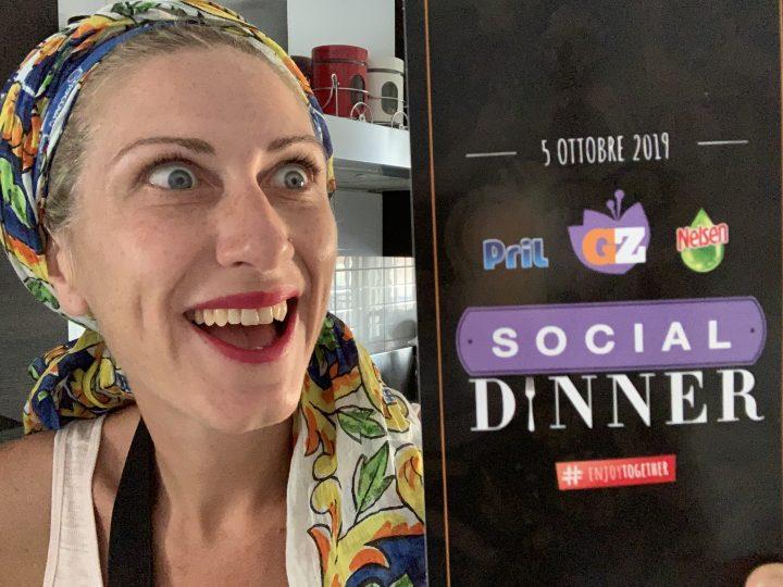 Arrivano le social dinner con Giallozafferano!