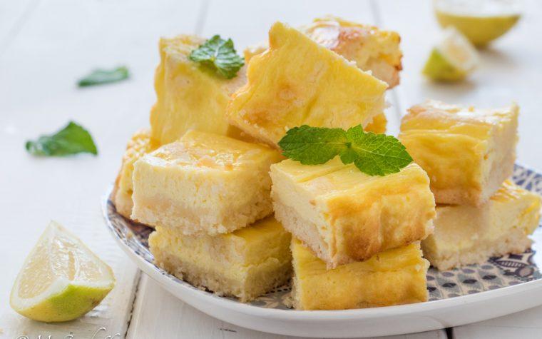 Quadrotti limone e cocco