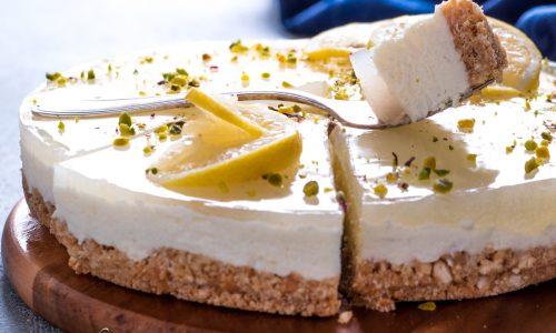 Cheesecake al limone - ricetta senza cottura