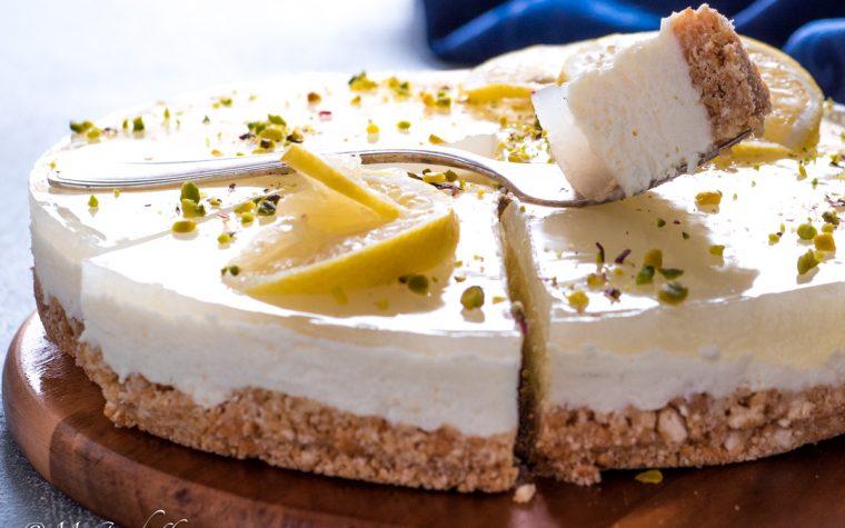 Cheesecake al limone – ricetta senza cottura