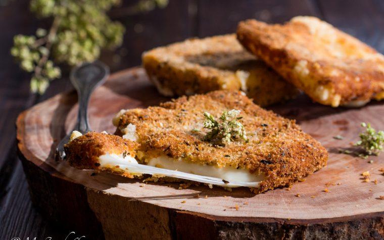 Caciocavallo impanato fritto ricetta siciliana