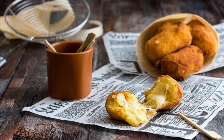 Crocchette di patate dal cuore filante