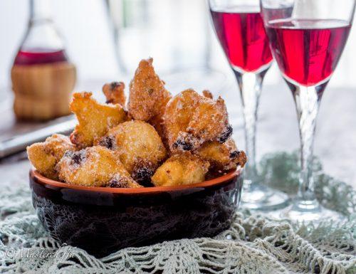 Le frittelle di San Martino con uvetta e semi di finocchio