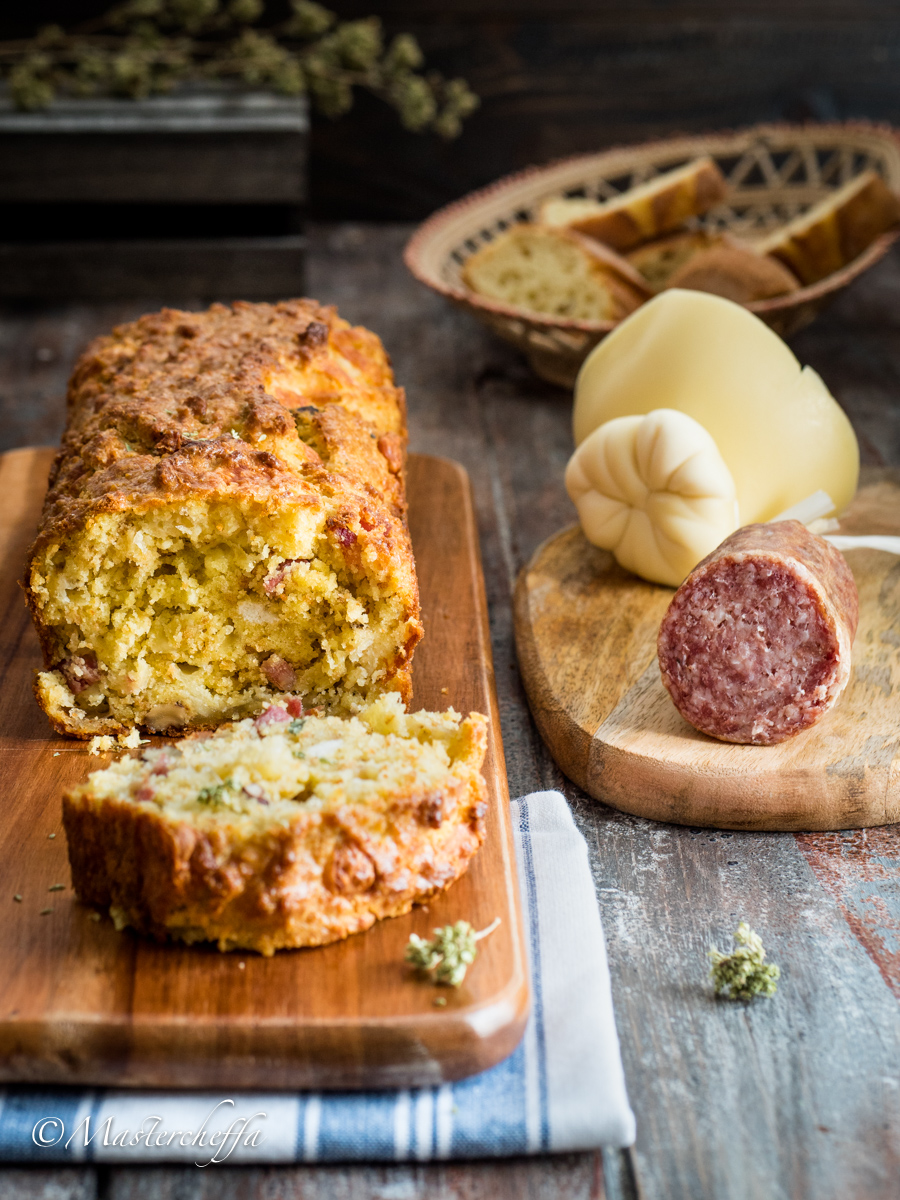 Plumcake Pane e Salame – Ricetta Svuotafrigo