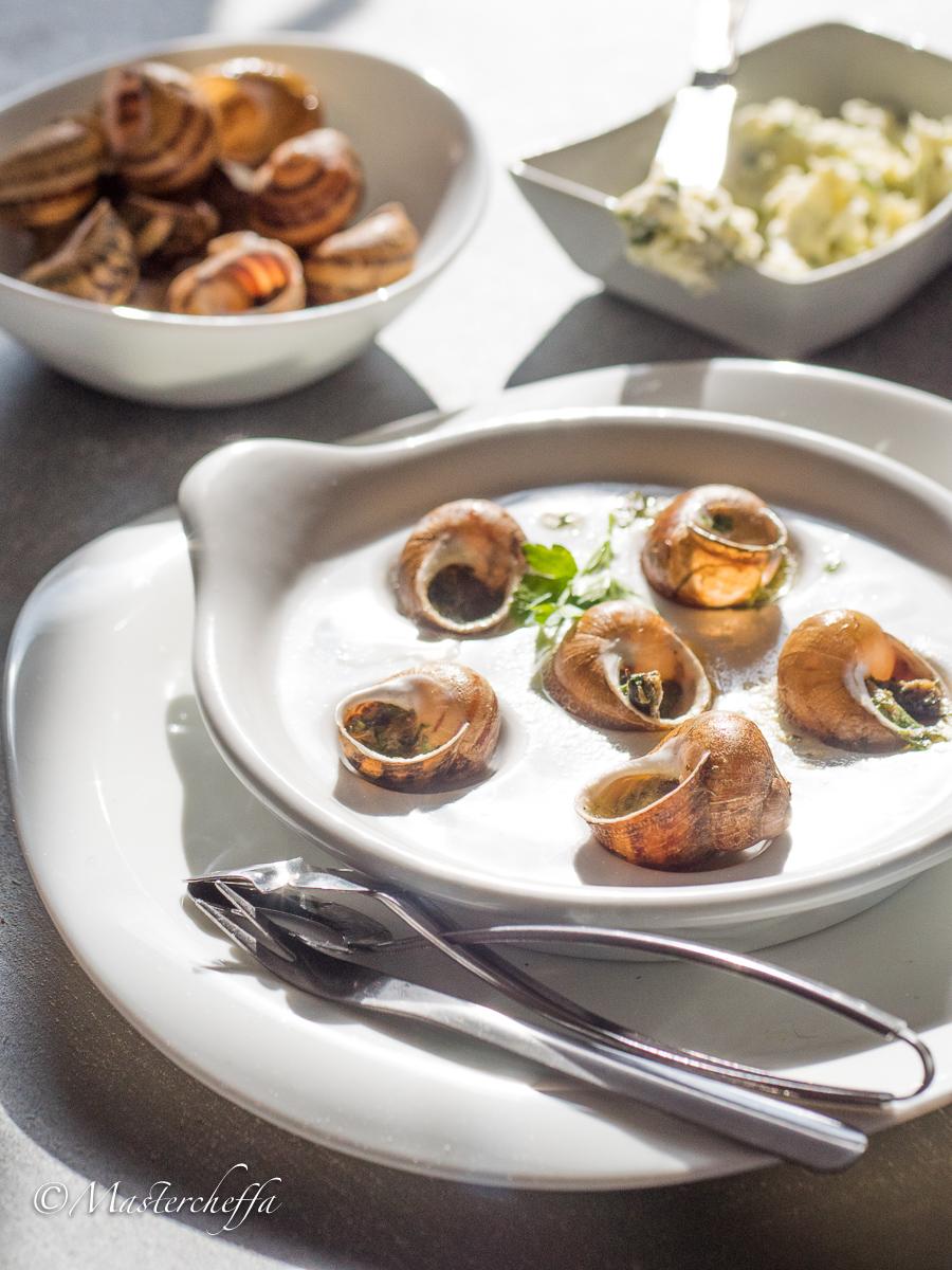 Escargots à la Bourguignonne - ricetta lumache alla francese