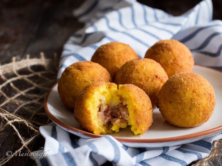 Arancine al burro - ricetta originale siciliana - Mastercheffa