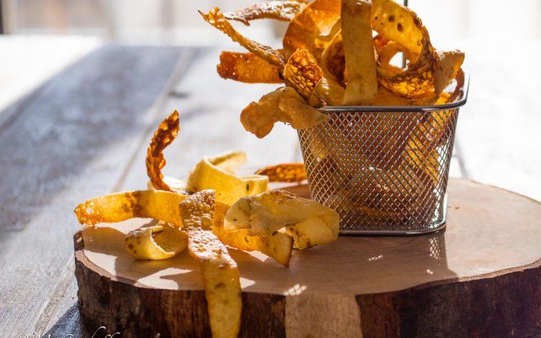 Elichette (striscioline di crepes fritte)