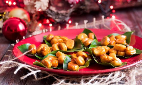 Mpagnuccata - ricetta ragusana natalizia