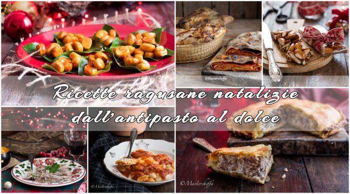Ricette ragusane natalizie dall'antipasto al dolce