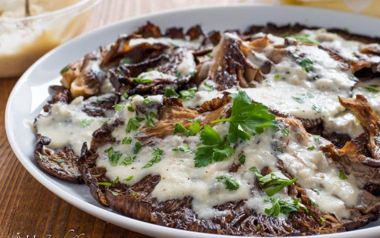 Funghi al gorgonzola