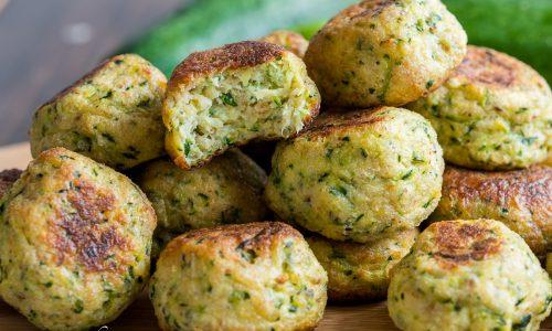 Polpette di zucchine e ricotta al forno