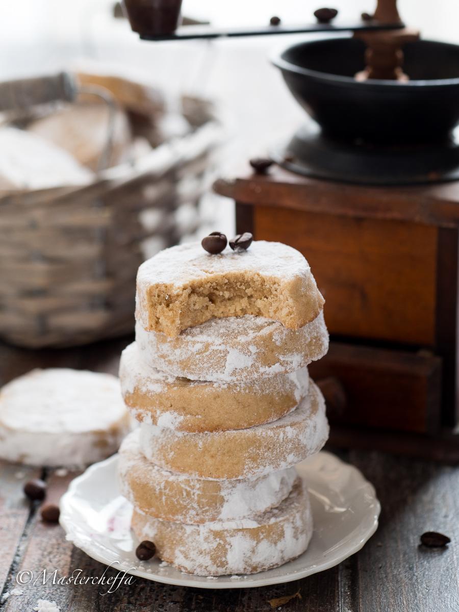 biscotti al caffè coffee meltaways