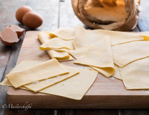 Come fare la pasta fresca all'uovo