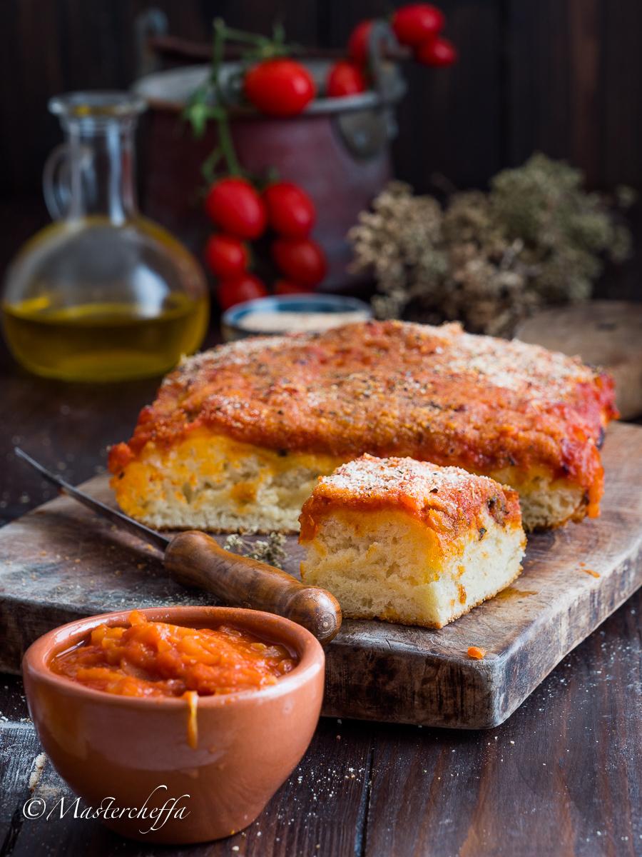 Sfincione palermitano - ricetta siciliana