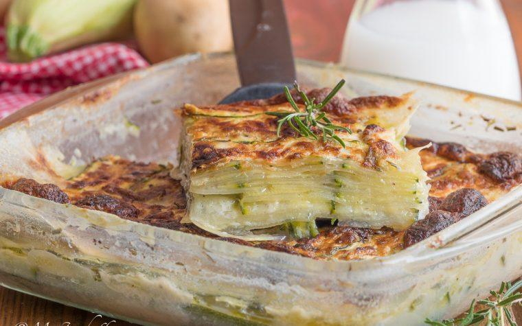 Patate e zucchine al latte