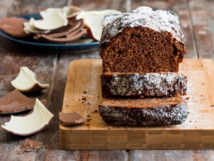 Plumcake ricotta e cioccolato al latte