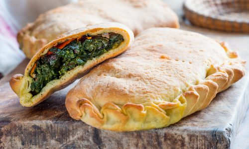 Scacce agli spinaci - ricetta tradizionale ragusana