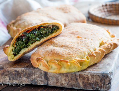 Scacce agli spinaci – ricetta tradizionale ragusana