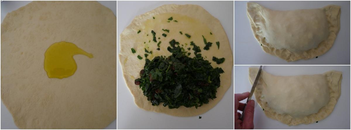 scacce agli spinaci passo passo 6