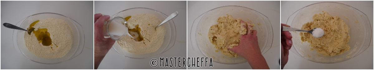 Tomasini ragusani con ricotta e salsiccia passo passo 1