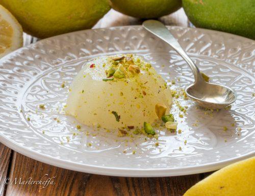 Gelo di limone – ricetta siciliana tradizionale