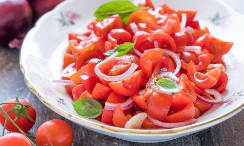 Insalata di pomodoro alla siciliana