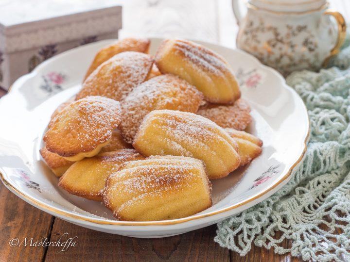 Madeleines de Commercy, soffici e burrosi dolcetti francesi
