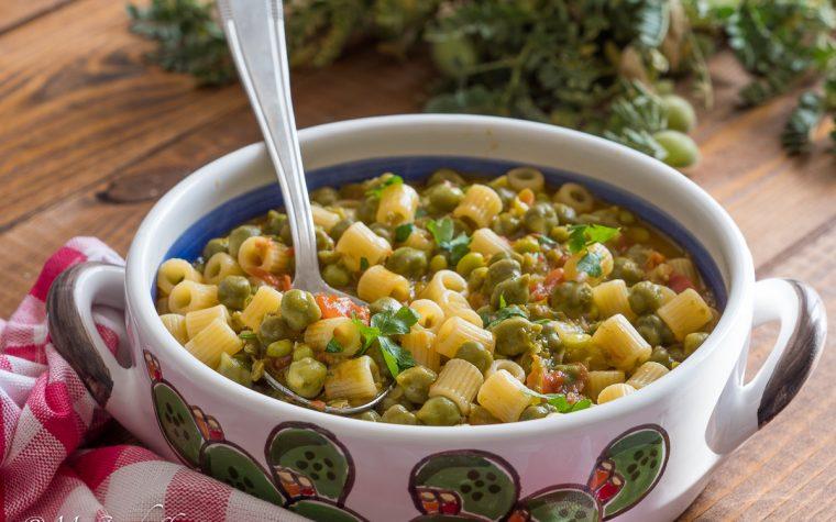 Come cucinare i ceci verdi – minestra di ceci verdi